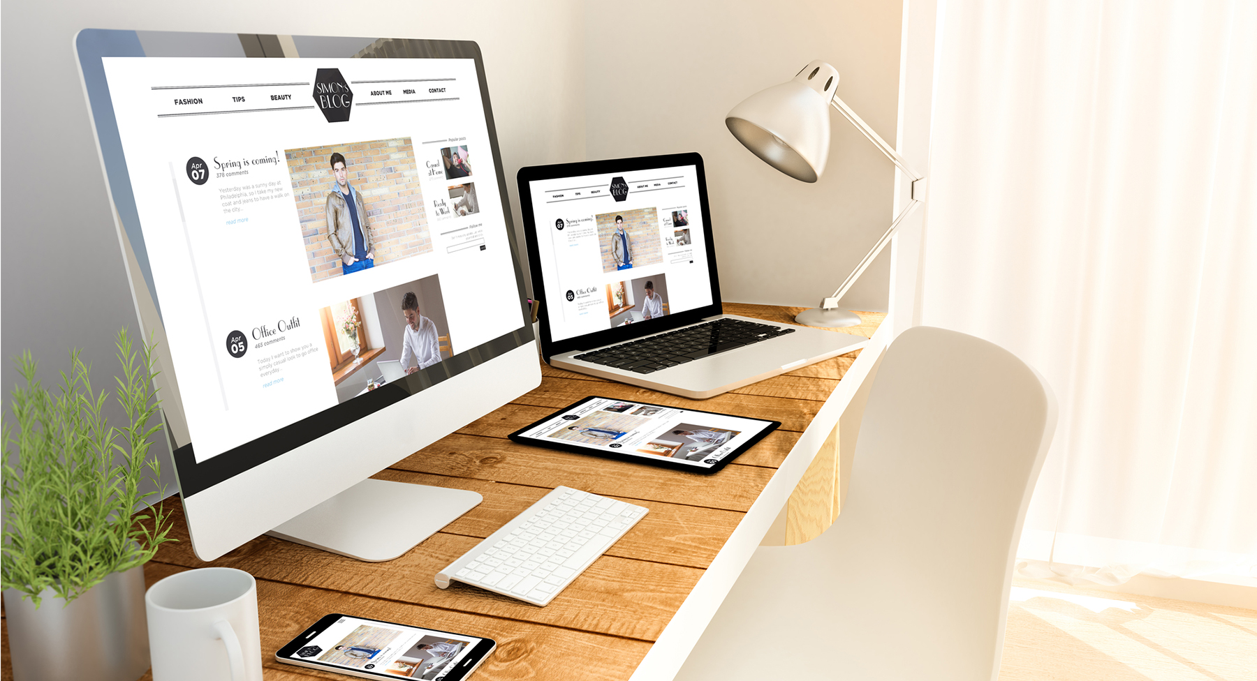 Let us help with your web design. Sue Forrest Agency